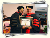 Pastor Wilson's Doctorate Service April 28th, 2013